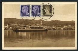 Messina - Ferry Boat - Viaggiata 1931 - Rif. 03636 - Messina