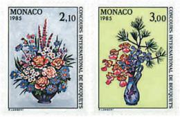 Ref. 96954 * NEW *  - MONACO . 1984. INTERNATIONAL FLOWERS BOUQUETS CONTEST. CONCURSO INTERNACIONAL DE RAMOS DE FLORES - Monaco
