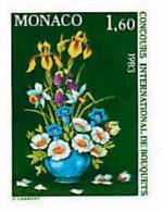 Ref. 222330 * NEW *  - MONACO . 1982. INTERNATIONAL FLOWERS BOUQUETS CONTEST. CONCURSO INTERNACIONAL DE RAMOS DE FLORES - Monaco