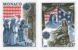 Ref. 62498 * NEW *  - MONACO . 1982. EUROPA CEPT. HISTORY. EUROPA CEPT. HISTORIA - Monaco