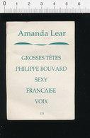 2 Scans Humour Amanda Lear Grosses Têtes Philippe Bouvard / Omoplate Os 124/6-D - Non Classés