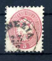 1864-65 LOMBARDO VENETO N.43 USATO - Lombardo-Veneto