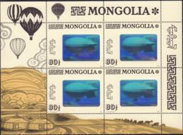 Ref. 106070 * NEW *  - MONGOLIA . 1993. DIRIGIBLES. DIRIGIBLES - Mongolia