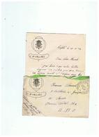 POSTE MILITAIRE BELGIQUE CORRESPONDACE MILITAIRE 1924 - 1914-18