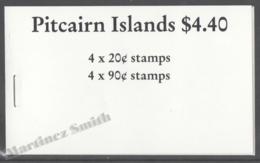 Pitcairn 1990 Yvert C354, Definitive, Ships Reprints - Booklet - MNH - Penrhyn