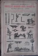 PUB 1893 - Machines-Outils Corcellet Huot Basset Pl Bellecour Lyon, Mongin-Monneret Et Lomont à Albert 80 - Advertising
