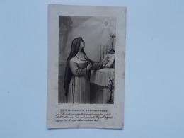 Bidprentje: Professie Van Klooster-Zuster Maria VERHAERT, Christelijke Scholen Te Vorselaar 26/8/1935 - Faire-part