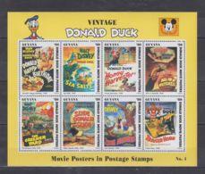 H573. Guyana - MNH - Cartoons - Disney's - Cartoon Characters - Donald Duck - Disney