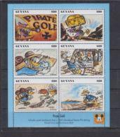 H573. Guyana - MNH - Cartoons - Art - Disney's - Cartoon Characters - Donald Duc - Disney