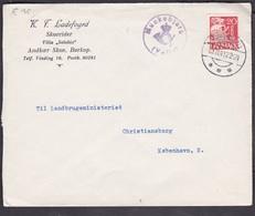 Denmark 1941 Mi 0202 Send From Munkebjergvej Vejle To KOPENHAGEN.....................................................424 - 1913-47 (Christian X)