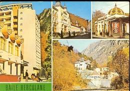 Postcard, Romania, Stationery, Code 22-81, Herculane, Views, Used 1982 - Roumanie