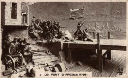 LE PONT D'ARCOLE - History
