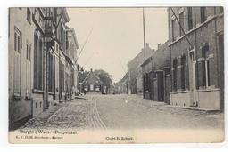 Burcht (Waes.) Dorpstraat 1909 - Zwijndrecht