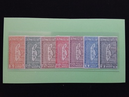 COLONIE ITALIANE - OLTRE GIUBA - Pro Istituto Coloniale Nn. 36/41 Nuovi ** + Spese Postali - Oltre Giuba