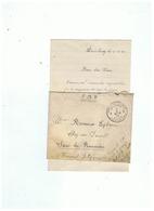 POSTE MILITAIRE BELGIQUE CORRESPONDACE MILITAIRE POUR SARS - LA - BUISSIERE (BELGIQUE) 1924 - 1914-18
