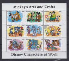 C178. Guyana - MNH - Cartoons - Disney's - Cartoon Characters - Mickey - Goofy - Disney
