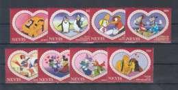 R573. Nevis - MNH - Cartoons - Disney's - Cartoon Characters - Love - Disney
