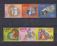 R573. Mali - MNH - Cartoons - Disney's - Cartoon Characters - Love - Disney