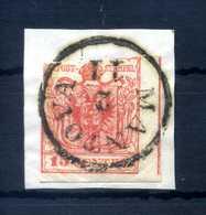 1850 LOMBARDO VENETO 15cent USATO - Lombardo-Veneto