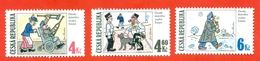 Czech Republic 1997. Funny Drawings - Soldier Schvejk. - Czech Republic