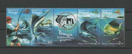 Tonga 2001 Sport Fishing Strip Y.T. 1185/1188 ** - Tonga (1970-...)