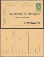 EP Pellens 1912 - Publicitaire Carrières De Sprimont (6G23184) DC0642 - Entiers Postaux
