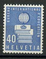 Switzerland 1958 40c  Education Issue #4O45 MNH - Dienstzegels