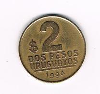 &  URUGUAY  2  PESOS URUGUAYOS  1994 - Uruguay