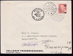 Denmark 1956 Mi 0361 Ovpt Send From Pr LAVEN STRIB SKERN To MIDDELFART...............................................425 - 1913-47 (Christian X)