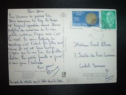 CP TP FRANCO 1,50P + EUROPA 3,50 P OBL.3 JUL 71 PUERTO DE POLLENSA - 1931-Aujourd'hui: II. République - ....Juan Carlos I