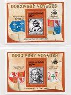 BARBUDA  1991 / Superbe 2 Blocs Surchargé Barbuda Mail  N° 166 / 67  MNH Cote 30.00  Départ Vente 8.00 Euros - Antigua Et Barbuda (1981-...)