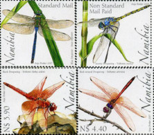 Ref. 202929 * NEW *  - NAMIBIA . 2007. DRAGONFLIES OF NAMIBIA. LIBELULAS DE NAMIBIA - Namibia (1990- ...)