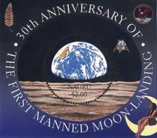 Ref. 60109 * NEW *  - NAURU . 1999. 30th ANNIVERSARY OF FIRST MAN ON THE MOON. 30 ANIVERSARIO DEL PRIMER HOMBRE EN LA LU - Nauru