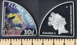 Flora Reef 10 Dollars 2017 - Monnaies
