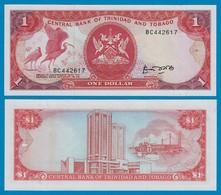 Trinidat & Tobago 1 Dollar Banknote 1985 UNC (1) Pick 36a   (18317 - Banknoten