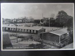 Postkarte Reichsarbeitsdienst Garding 1936 RAD Lager - Nordfriesland