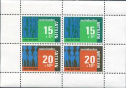 Ref. 282916 * NEW *  - NETHERLANDS ANTILLES . 1973. 25 ANIVERSARIO DE LOS PRIMEROS SELLOS PRO INFANCIA - Antillas Holandesas