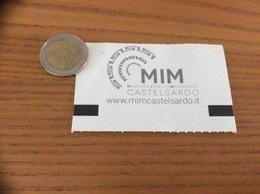 "Ticket D'entrée ""MIM Castelsardo Cum. Ingresso Ridotto"" (Italie) - Tickets D'entrée"