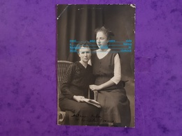 Cpp Mme HUBER ,sa Fille / Femme Du Chef De Chorale 68 GUEBWILLER Tribunal 11 Novembre 1921 Adr VERDENAL SAINT ST DIE 88 - Genealogy