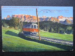 AK RITTNERBAHN Eisenbahn Zug Dolomiten Ca.1916//  D*35213 - Italien