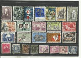 Lot De  25 Timbres De Belgique Années Diverses. - Stamps