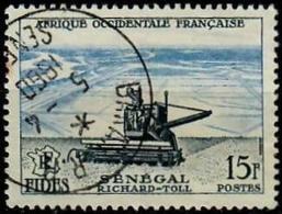 AOF (French West Africa) 1956 - Mi. 78 O, Seeder | Economic And Social Development Fund. Inscr F.I.D.E.S - A.O.F. (1934-1959)