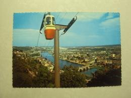29875 - NAMUR - LE TELEFERIQUE ET LA CITADELLE - ZIE 2 FOTO'S - Namen