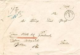 Gesiegelter Dienstbrief Von Königl. Kreis Gerichts- Commission In TREBBIN - Preussen