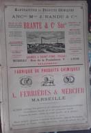 PUB 1893 - P Chimique Brante St Fons 69, Ferrières Mercier Marseille, Gilliard P. Monnet Cartier Lyon, Mode Illustrée - Advertising