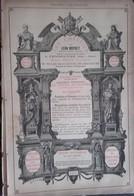 PUB 1893 - Statues L. Moynet Vendeuvre 10, Taillanderie P. Léonard Givonne 08, A. Grandjean Reims 51 - Advertising