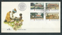 TRANSKEI  Yvert N° 138 à 141  Enveloppe UMZIMKULU - Transkei