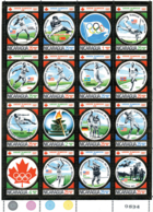 Ref. 139381 * NEW *  - NICARAGUA . 1975. GAMES OF THE XXI OLYMPIAD. MONTREAL 1976. 21 JUEGOS OLIMPICOS VERANO MONTREAL 1 - Nicaragua