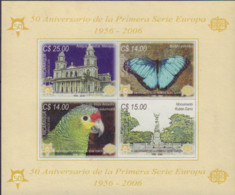 Ref. 191059 * NEW *  - NICARAGUA . 2005. 50th ANNIVERSARY OF EUROPA STAMP EMISSION. CINCUENTENARIO DE LA EMISION DE SELL - Nicaragua