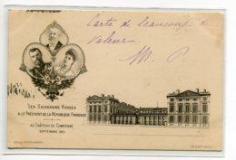 RUSSIE Les Souverains Russes Et Président Loubet Au Chateau De Compiègne Septembre  1901 - Edit Decelle Com    /D25-2018 - Russie